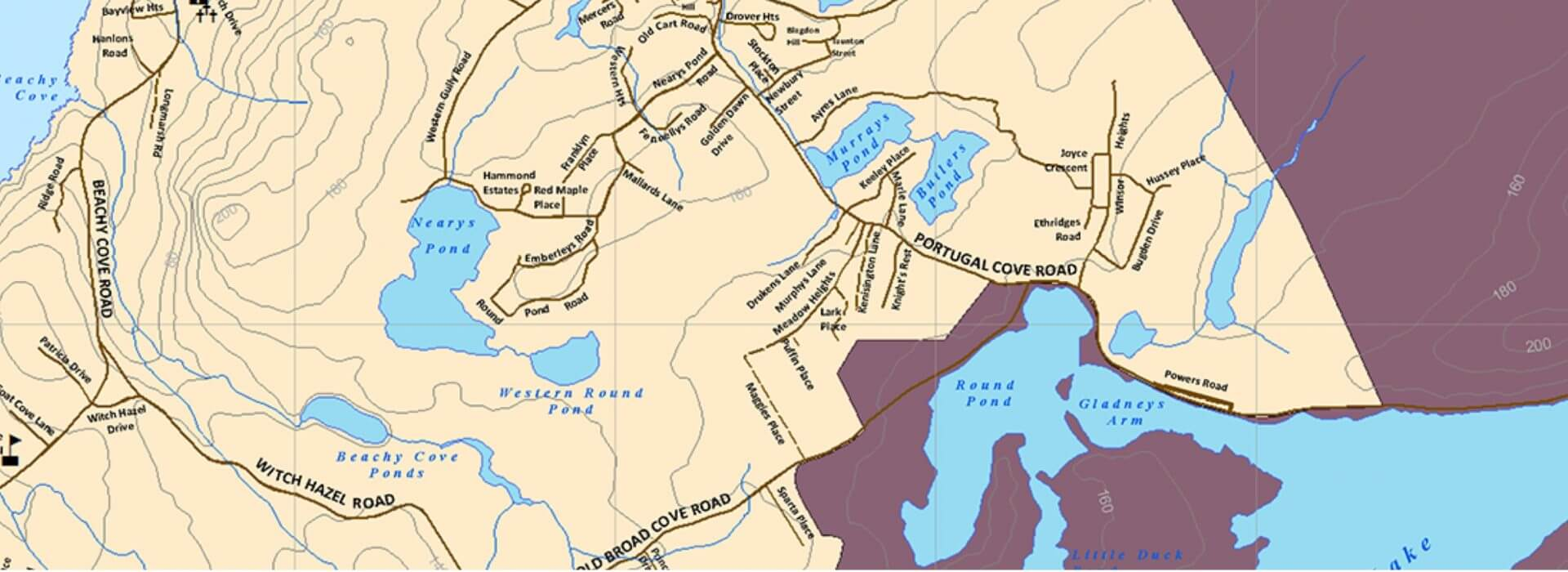 Town Of Portugal Cove StPhilips - Portugal cove nl map