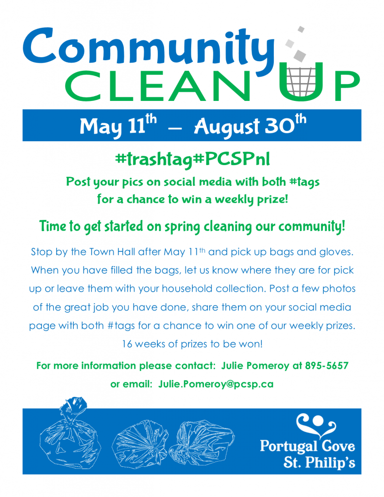 8 Weeks Remain to Win Prizes in Community Clean Up | Town of